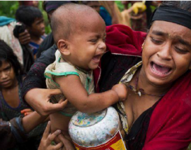 THE ROHINGYA VICTIMS OF ATROCITY CRIMES IN MYANMAR & THEIR ATTEMPTS TO ESCAPE TO BANGLADESH